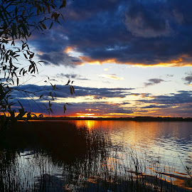 Lake Sunset by Jamie Wilson - Novices Only Landscapes