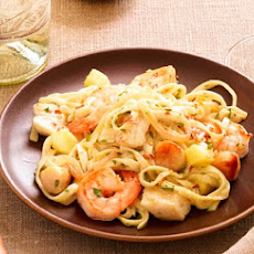 Sweet and Spicy Seafood Pasta