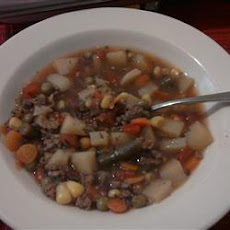 Hobo Beef and Vegetable Soup