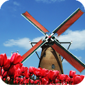 Tulip Windmill Live Wallpaper icon