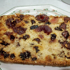 Chocolate Chip Cherry Fruitcake Loaf