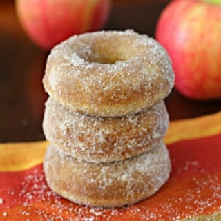 Baked Apple Cider Doughnuts