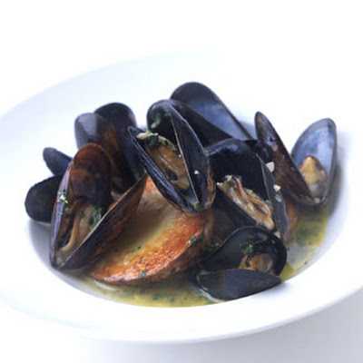 Mussels with Roasted Potatoes