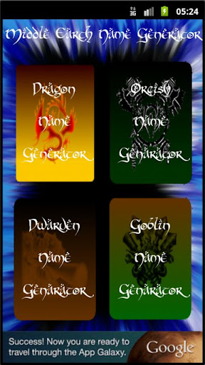 The Middle Earth Names