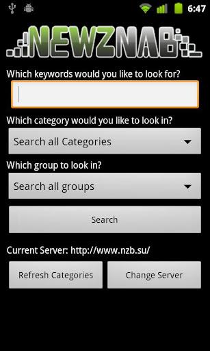Newznab Search