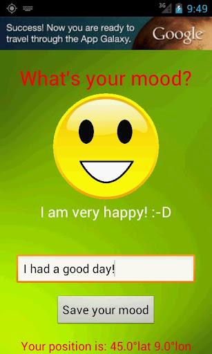 你的心情是什麼?