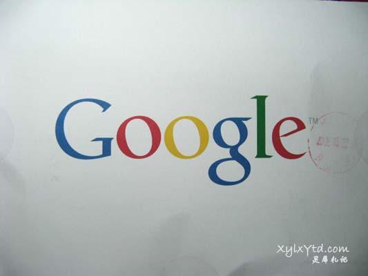 Google邮件背面Google的Logo
