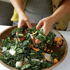 Lacinato Kale Salad with Roasted Squash
