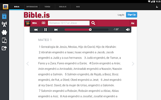 Screenshot of Sociedad Bíblica Peruana