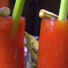 Spicy Bloody Mary with Pepper Vodka