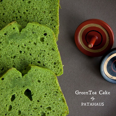 Green Tea (Matcha) Pound Cake – Deep Green Tea Flavor (Japanese)
