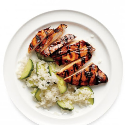 Teriyaki Chicken with Rice Salad