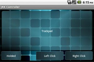Screenshot of JRK Controller Lite
