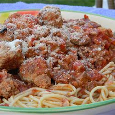 Family Sicilian Sauce and Meatballs