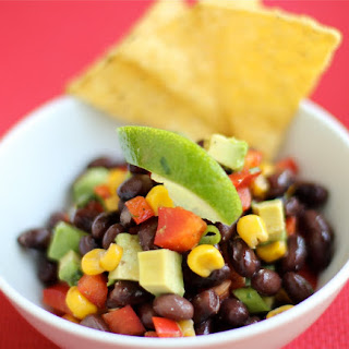 Roasted Corn, Avocado and Black Bean Salsa