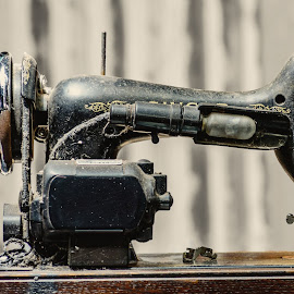 Treadle by Angelica Glen - Artistic Objects Antiques ( sewing, old, treadle, machine, antique )