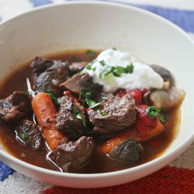 Spanish Beef Stew With Pimentón and Piquillo Peppers