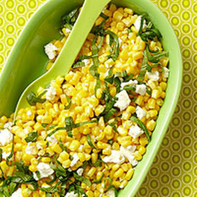 Cheesy Corn Salad
