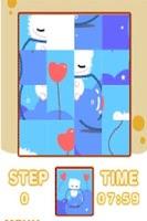 Screenshot of Milkcat Sliding Puzzle