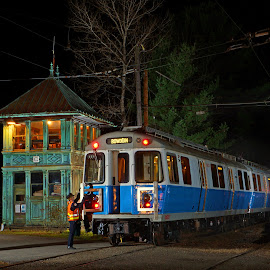 The Seashore Trolley Museum 01 by Jeff Stallard - Transportation Trains