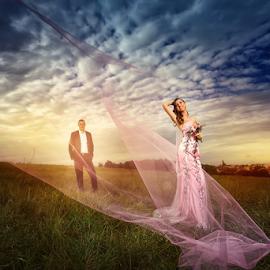 wedding by Dejan Nikolic Fotograf Krusevac - Wedding Bride & Groom ( vencanje, buket, svadba, vencanica, bidermajer, fotograf )