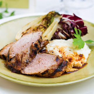 Grilled Honey-Mustard Pork Tenderloin