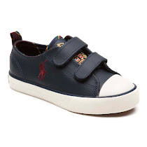 Ralph Lauren Preppy Double Strap Trainer CANVAS TRAINER
