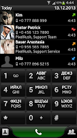 Screenshot of PP – Dialer and Contacts