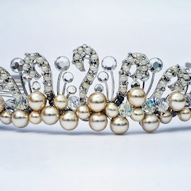 It's All About the Tiara by Maria Petti - Wedding Details ( crystals, artistic, jewelry, object )