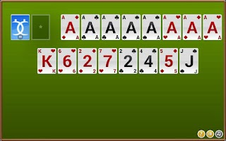 Screenshot of Forty Thieves Solitaire