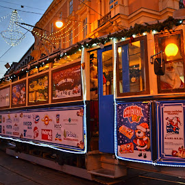 Advent tram by Tihomir Beller - Transportation Other