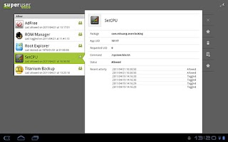 Screenshot of Superuser
