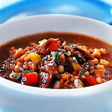 Beef and Barley Soup (Crock Pot)