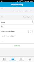 Screenshot of Delta Lloyd Mobile Banking