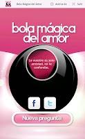 Screenshot of Bola Mágica del Amor
