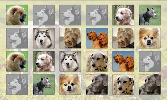 Screenshot of Dogs Memory Game Free