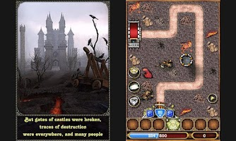 Screenshot of Crystallight Defense Free