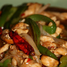 Chicken W/Cashews and Snow Peas