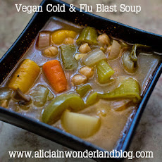 Vegan Cold & Flu Blast Soup