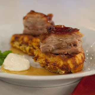 Sweet-and-Spicy Glazed Pork Belly
