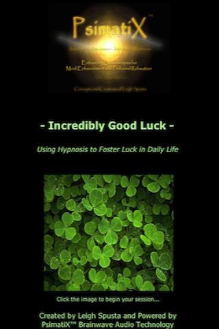 Incredibly Good Luck Hypnosis