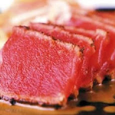 Super Easy Seared Ahi Tuna