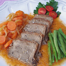 Braised Veal Tongue