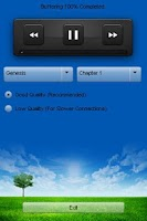 Screenshot of Malayalam Audio Bible