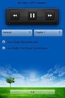 Screenshot of Malayalam Audio Bible