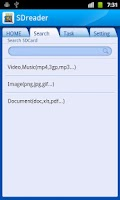 Screenshot of SDCard Reader (File Manager)