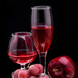 Red Red Red by Rakesh Syal - Food & Drink Alcohol & Drinks