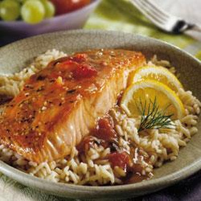 Balsamic Glazed Salmon