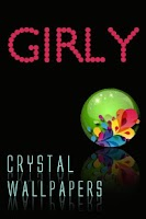 Screenshot of Crystal Girly Wallpapers