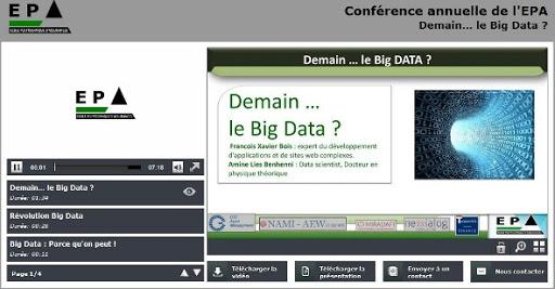 Conférence 1 : Demain...le Big Data